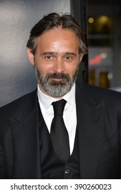 "LOS ANGELES, CA - SEPTEMBER 9, 2015: Director Baltasar Kormakur at the American premiere of his movie ""Everest"" at the TCL Chinese Theatre, Hollywood."