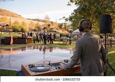 Los Angeles, CA/ USA- 10/24/17: Wedding DJ