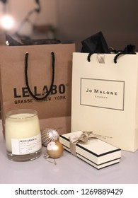 Los Angeles, CA / USA - 11/28/18: Jo Malone and Le Labo from Nordstrom
