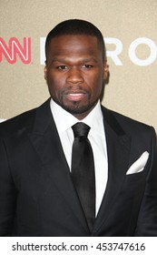Los Angeles, CA, USA; December 2, 2012; Curtis James Jackson III, aka 50 Cent, arrives to the 2012 CNN Heroes in Los Angeles, California.