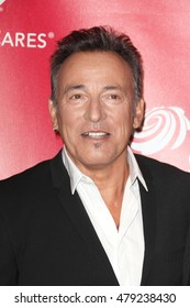 Los Angeles, CA, USA; February 2, 2012; Bruce Springsteen arrives to the MusiCares 2013 Person Of The Year Tribute in Los Angeles, California.