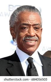 Los Angeles, CA, USA; June 1, 2012; Al Sharpton arriving at the 2012 BET Awards in Los Angeles, California.
