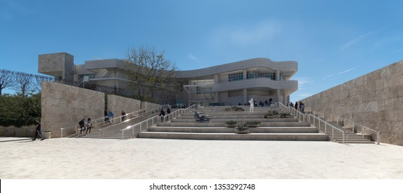LOS ANGELES, CA / USA - MARCH 15, 2019 - The Getty Center