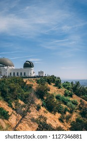 Los Angeles, CA, USa May 2018: The Griffith Observatory. Editorial only.