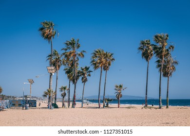 Los Angeles, CA, USA May 2018: Venice Beach. Editorial only.