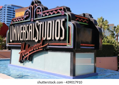Los Angeles, CA, USA - November 22, 2015: Universal Studios Hollywood, the Entertainment Capital of LA, is the first film studio and theme park of Universal Studios Theme Parks across the world.