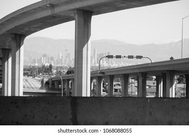 Los Angeles California 105 Freeway