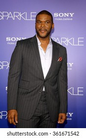 LOS ANGELES, CALIFORNIA - August 16, 2012. Tyler Perry at the Los Angeles premiere of 'Sparkle' held at the Grauman's Chinese Theatre, Los Angeles.