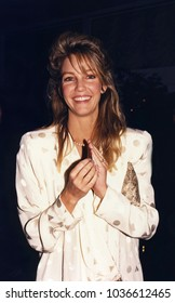 Los Angeles, California - exact date unknown; circa 1990: actress Heather Locklear arriving at a celebrity event