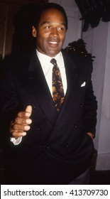 LOS ANGELES, CALIFORNIA - EXACT DATE UNKNOWN - CIRCA 1990 - O.J. Simpson arriving at a celebrity event