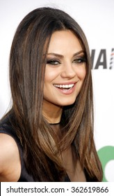 LOS ANGELES, CALIFORNIA - June 21, 2012. Mila Kunis at the Los Angeles premiere of 'Ted' held at the Grauman's Chinese Theater, Los Angeles.