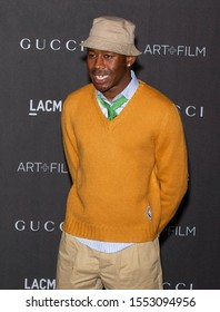 Los Angeles, California - November 02, 2019: Tyler, The Creator arrives at the 2019 LACMA Art + Film Gala Presented By Gucci