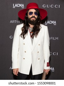 Los Angeles, California - November 02, 2019: Alessandro Michele arrives at the 2019 LACMA Art + Film Gala Presented By Gucci