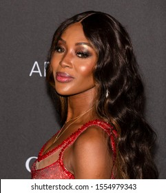 Los Angeles, California - November 02, 2019: Naomi Campbell arrives at the 2019 LACMA Art + Film Gala Presented By Gucci