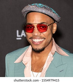 Los Angeles, California - November 02, 2019: Anderson Paak arrives at the 2019 LACMA Art + Film Gala Presented By Gucci