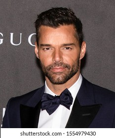 Los Angeles, California - November 02, 2019: Ricky Martin arrives at the 2019 LACMA Art + Film Gala Presented By Gucci