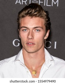 Los Angeles, California - November 02, 2019: Lucky Blue Smith arrives at the 2019 LACMA Art + Film Gala Presented By Gucci