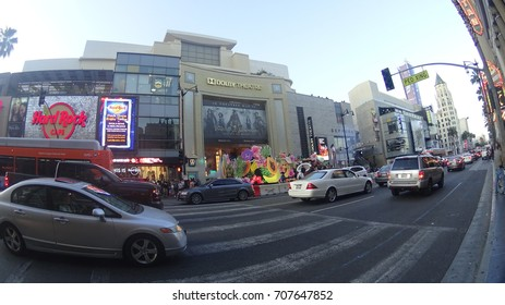 Los Angeles, California, USA - 05.29.2017: the Dolby Theater on Hollywood boulevard