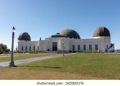 LOS ANGELES, CALIFORNIA, USA - AUGUST, 2019: Griffith Observatory is an astronomical observatory located in Los Angeles, in the United States