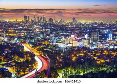Los Angeles, California, USA cityscape.