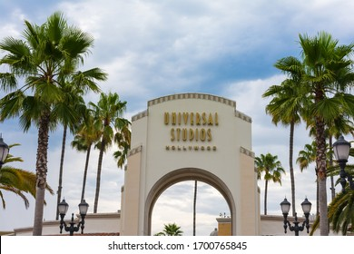 Los Angeles, California, USA - July 23th, 2019: World famous park Universal Studios in Hollywood