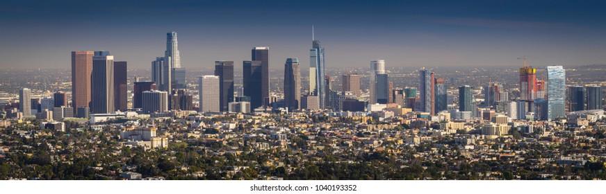 Los Angeles Skyline Images Stock Photos Amp Vectors
