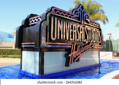 Los Angeles, California, USA - March 12, 2015: Universal Studios Hollywood, the Entertainment Capital of LA, is the first film studio and theme park of Universal Studios Theme Parks across the world.