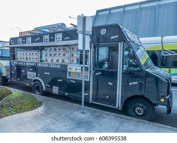 Los Angeles, California, USA, March 01, 2017: Berlin Hot-dogs food truck