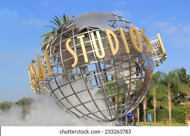 Los Angeles, California, USA - October 10, 2014: Universal Studios Hollywood, the Entertainment Capital of LA, is the first film studio and theme park of Universal Studios across the world.