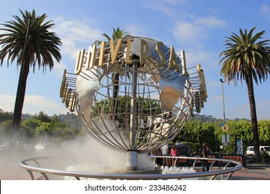 Los Angeles, California, USA - October 10, 2014: Universal Studios Hollywood is the first film studio and theme park of Universal Studios Theme Parks across the world.