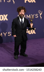 Los Angeles, California / USA - September 22, 2019: Peter Dinklage at the 71st Emmy Awards at Microsoft Theater, Fox Red Carpet on September 22, 2019 in Los Angeles, California.
