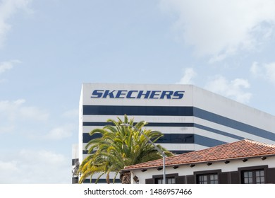 Skechers Headquarters Building Sign Editorial Image Image