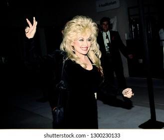 Los Angeles, California/US - circa 1990: Dolly Parton