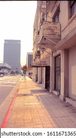 Los Angeles, California/USA - May 29, 1994:  Urban blight in an older section of Los Angeles, east of downtown.