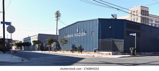 Los Angeles, CA/United States - October 6th, 2019: Urban Radish in Artist District