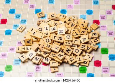 Scrabble Game Board Images, Stock Photos & Vectors