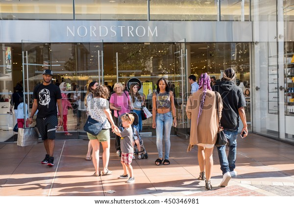 Nordstrom The Grove >> Los Angeles Causa 7102016 Nordstrom Store Stock Photo Edit Now