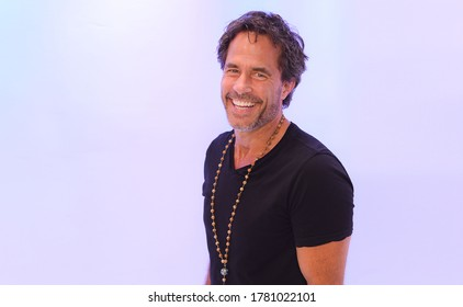 Los Angeles, CA/USA - August 25, 2019: Actor Shawn Christian poses for a photo in Los Angeles, CA.