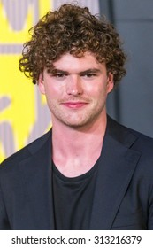 LOS ANGELES, CA/USA - AUGUST 30 2015: Vance Joy attends the 2015 MTV Video Music Awards at Microsoft Theater.