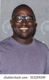 LOS ANGELES, CA/USA - AUGUST 30 2015: Hannibal Buress attends the 2015 MTV Video Music Awards at Microsoft Theater.