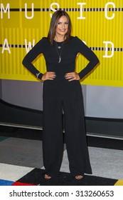 LOS ANGELES, CA/USA - AUGUST 30 2015: Mariska Hargitay attends the 2015 MTV Video Music Awards at Microsoft Theater.