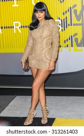 LOS ANGELES, CA/USA - AUGUST 30 2015: Kylie Jenner attends the 2015 MTV Video Music Awards at Microsoft Theater.