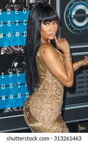 LOS ANGELES, CA/USA - AUGUST 30 2015: Nicki Minaj attends the 2015 MTV Video Music Awards at Microsoft Theater.