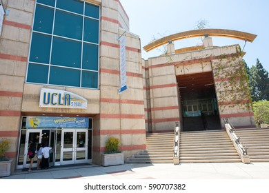 LOS ANGELES, CA/USA - July 16, 2016: Bookstore on the UCLA campus. UCLA is a public university located on the Westwood area of Los Angeles.