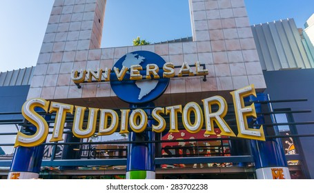 LOS ANGELES, CA/USA - MAY 24: Universal studios hollywood on May 24, 2015 in Los Angeles, CA, USA. It is a theme park and film studio in Los Angeles, also known as the Entertainment Capital of LA.