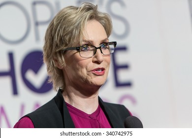 LOS ANGELES, CA/USA -  NOVEMBER  03  2015: Jane Lynch attends the People's Choice Awards 2016 nominations press conference at The Paley Center for Media .