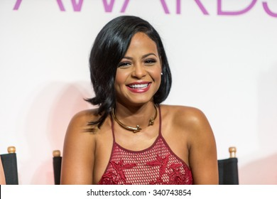 LOS ANGELES, CA/USA -  NOVEMBER  03  2015: Christina Milian attends the People's Choice Awards 2016 nominations press conference at The Paley Center for Media .