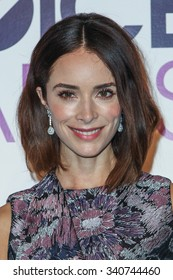 LOS ANGELES, CA/USA -  NOVEMBER  03  2015: Abigail Spencer attends the People's Choice Awards 2016 nominations press conference at The Paley Center for Media .