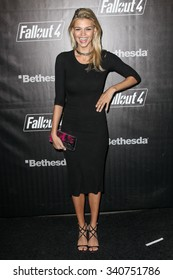 LOS ANGELES, CA/USA -  NOVEMBER  05  2015: Kelly Rohrbach attends the Fallout 4 video game launch event in downtown Los Angeles.���