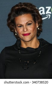 LOS ANGELES, CA/USA -  NOVEMBER  09  2015: Alexandra Billings attends the Red Carpet Premiere Screening For Season Two of 'Transparent' .